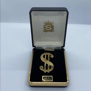 Dollar Sign Money Clip 💵 NWT